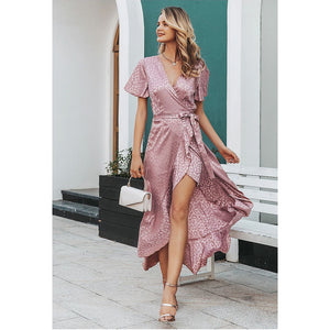 Vintage Style Butterfly Sleeve Dress