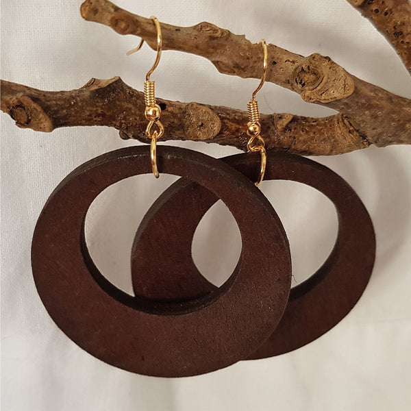 Earthkeeper Wooden Earrings