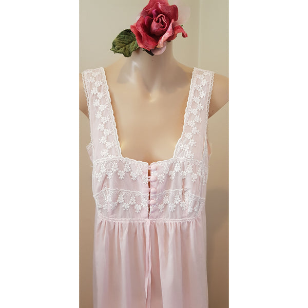Vintage Pink Nightgown