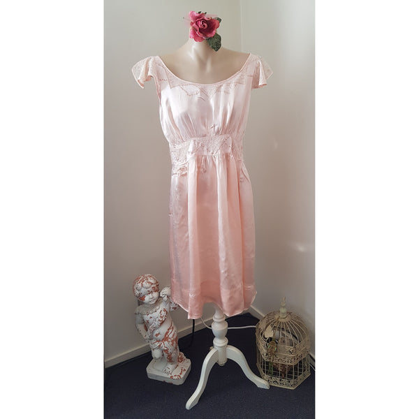 Vintage Silk Nightdress/Summer Dress