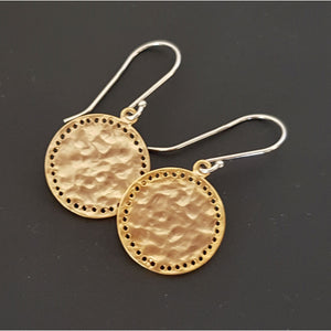 Solice Pitted Drop Earrings