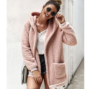 Fluffy Teddy Coat