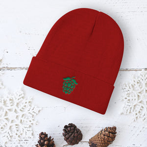 Embroidered Hop Beanie