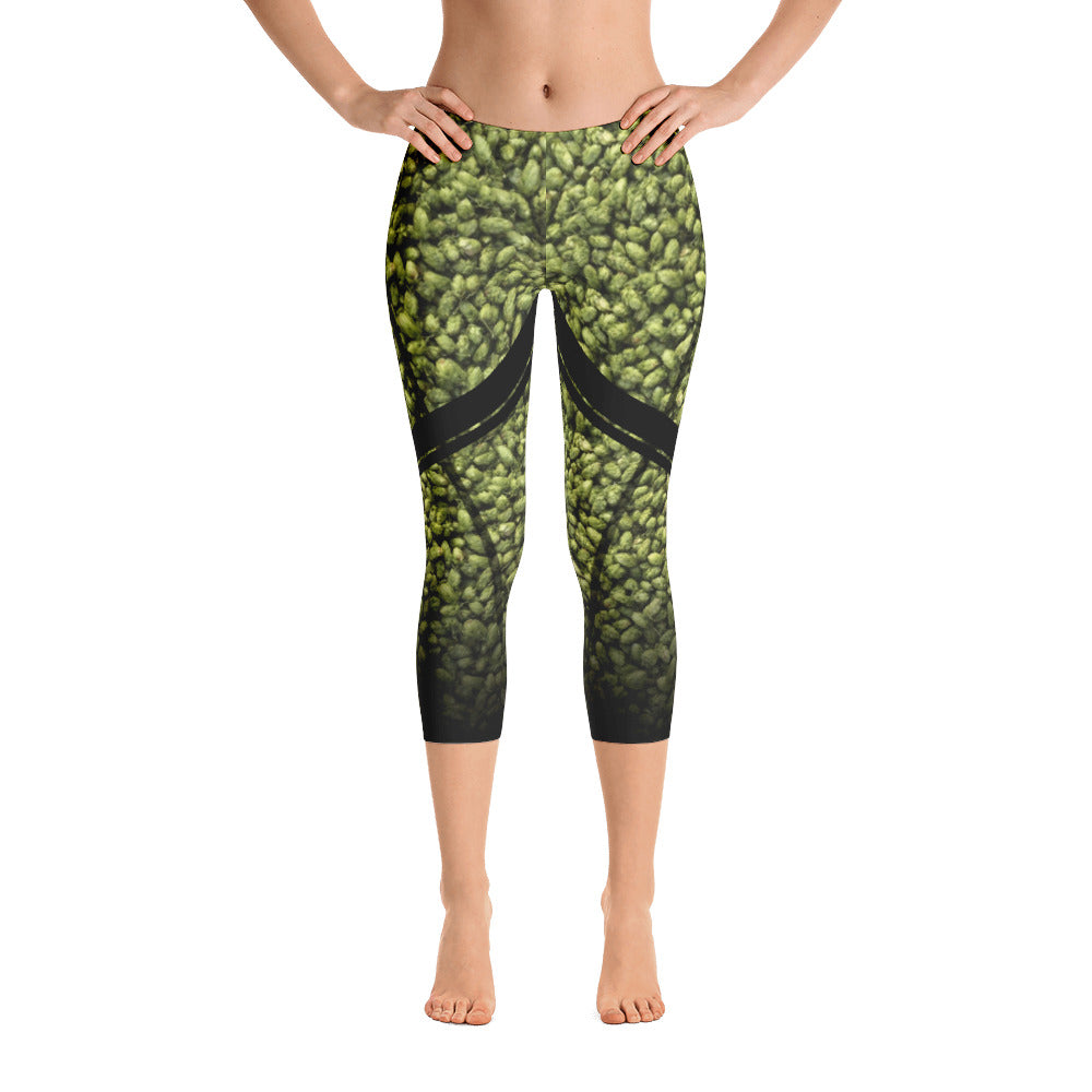 Sea of Hops Capri Leggings
