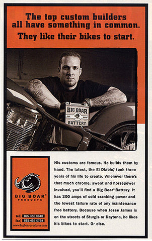June 2000 Hot Bike Ad