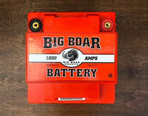 "Big Boar Battery 1000, 6 3/4""L x 7""T x 5""W"
