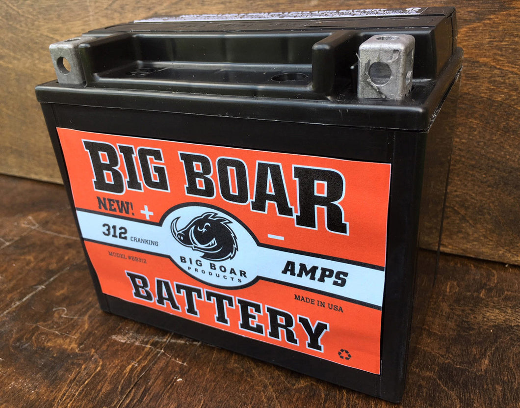 Big Boar Battery, 312 Cranking Amps 6