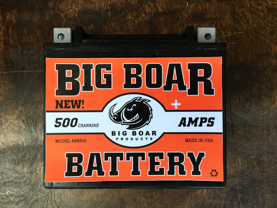 Big Boar Battery, 500 Cranking Amps, 6 7/8