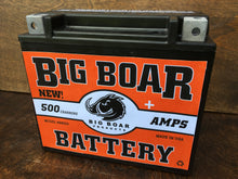 "Big Boar Battery, 500 Cranking Amps, 6 7/8""L x 6 1/16""T x 3 5/16""W"