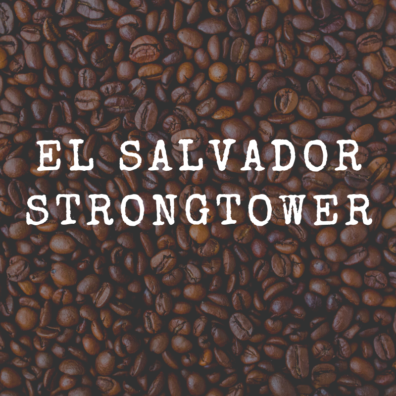 El Salvador Strongtower 12 oz bag