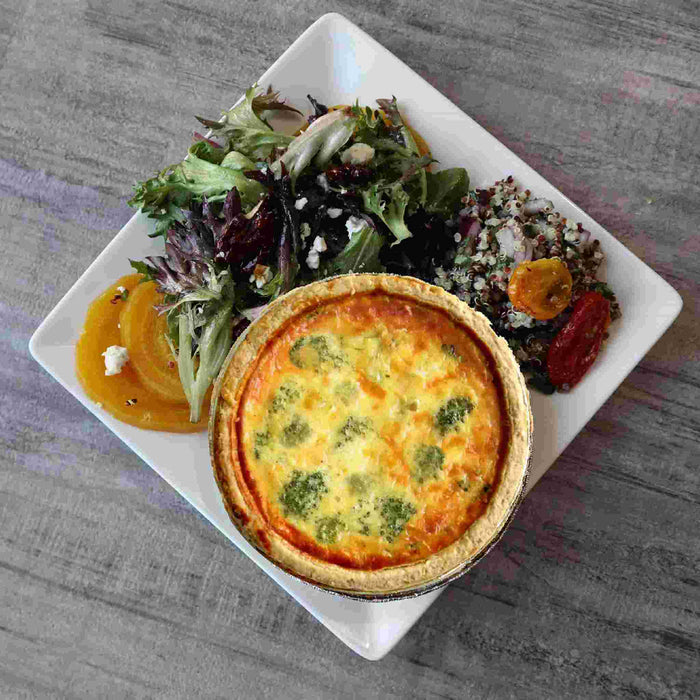 Bento Broccoli Quiche (V)
