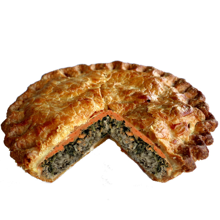 FV11. Spinach Feta & Wild Rice Pie
