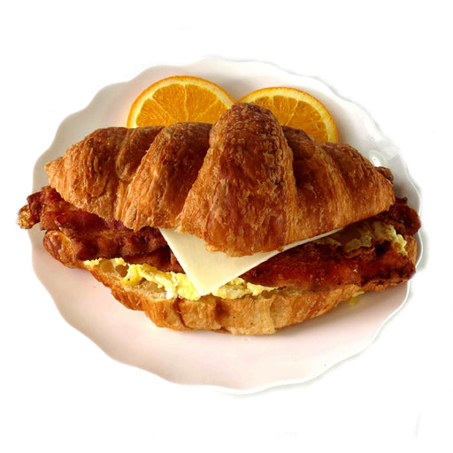 B02. Egg, Bacon and Cheese Croissant