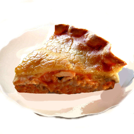 B11. Canadian Breakfast Pie, Slice