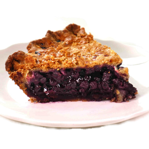 D05. Wild Blueberry Sliced Pie (V)