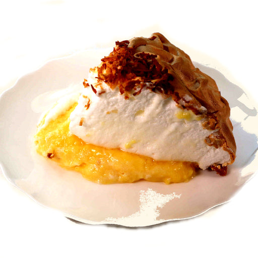 D09. Coconut Cream Sliced Pie (V)