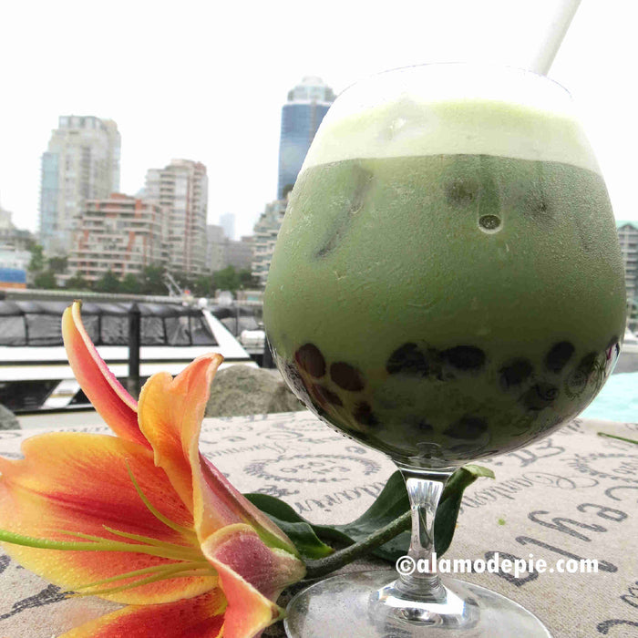 T05. Matcha Latte Bubble Tea