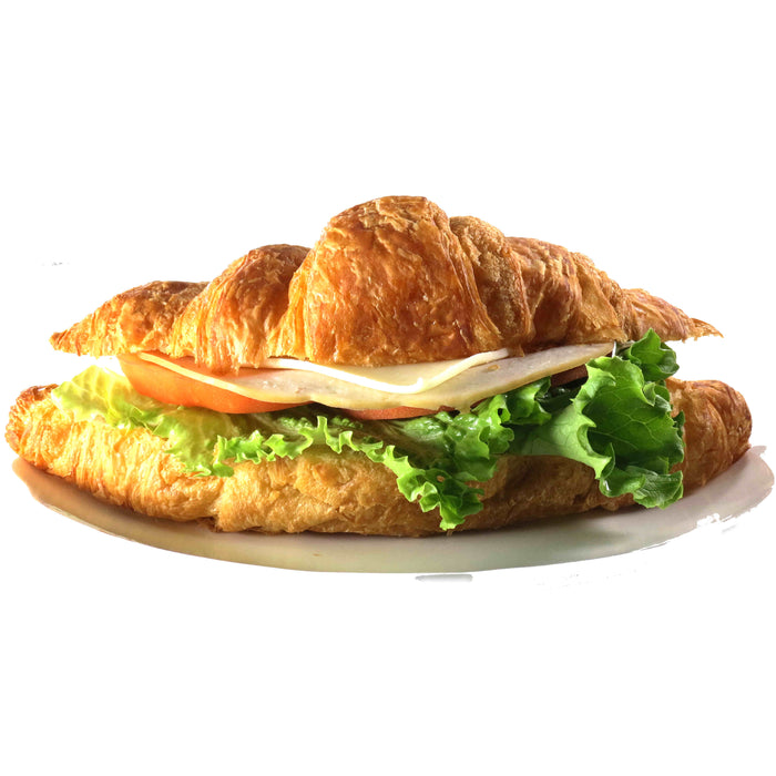 BL23. Turkey & Cheese Croissant Sandwich