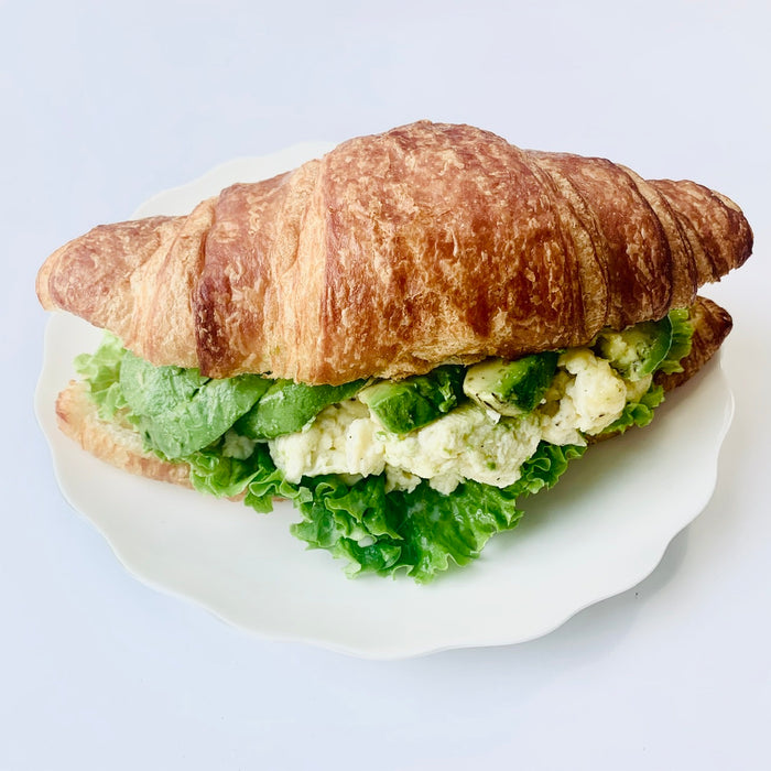 B05. Avocado Egg Cheese Croissant (Veggie)