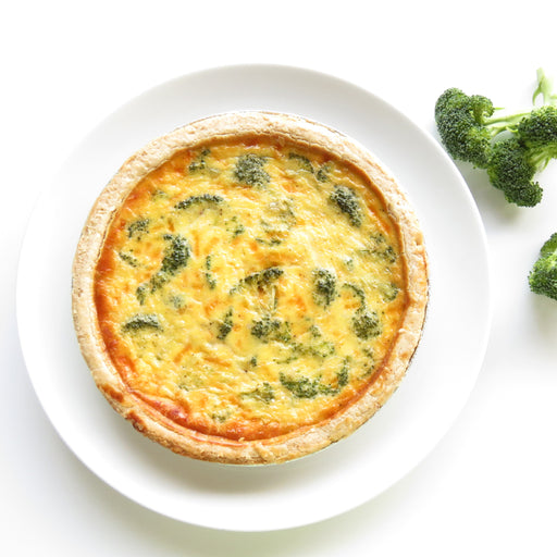 B08. Broccoli Quiche 5in (Veggie)