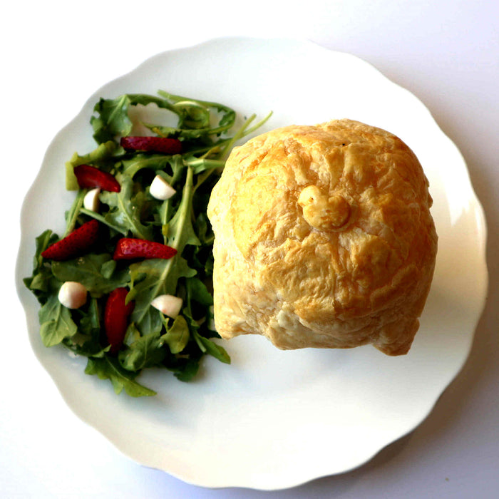Chicken Pot Pie w/Salad and Side Dish