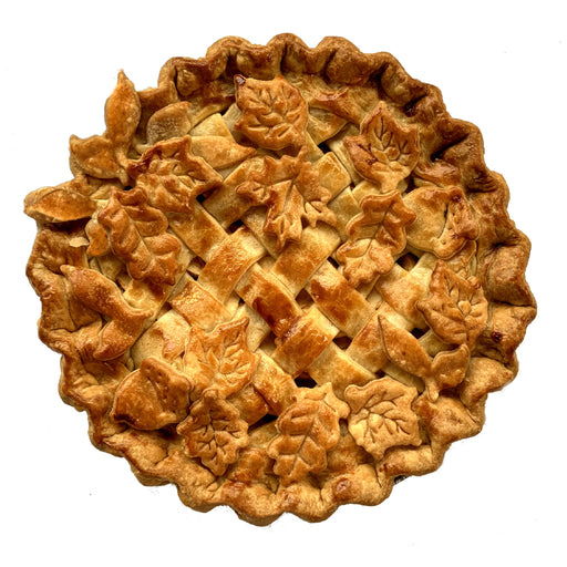 FW01d Apple Lattice Pie Decorated (V)