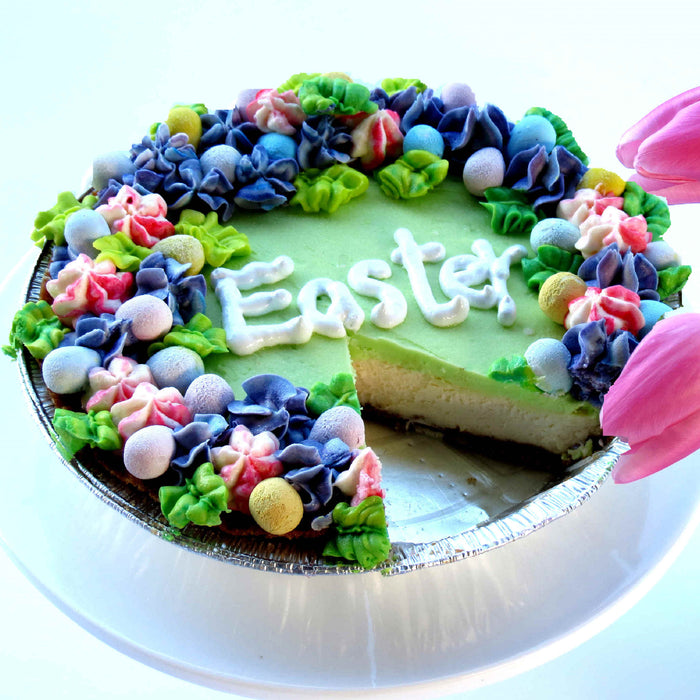 EW03 Easter Honeydew Cream Cheese Pie