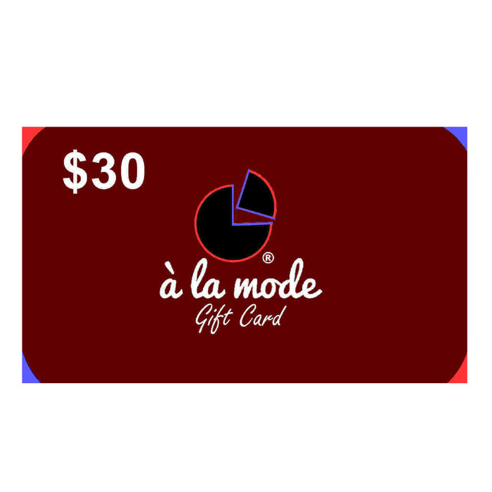 A La Mode Online Gift Card