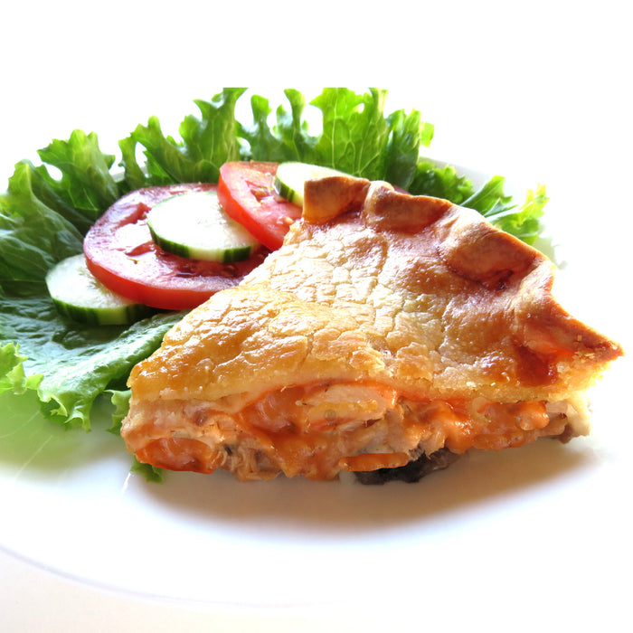 BL11. Breakfast Pie with Salad