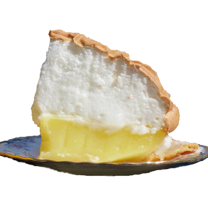 D07. Lemon Meringue Sliced Pie (Veggie)