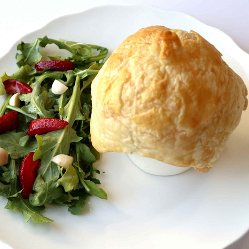 Mushroom Pot Pie w/Salad and Side Dish (Veggies)