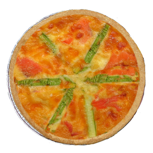 FQ14 Asparagus & Red Pepper Quiche