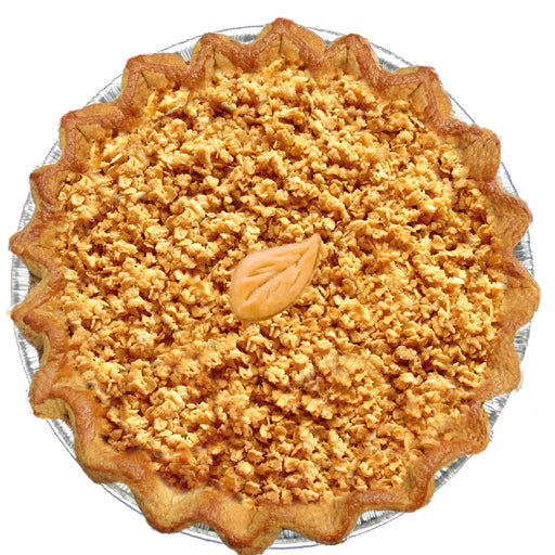 Vegan Peach Crumble Pie (V)(VG)