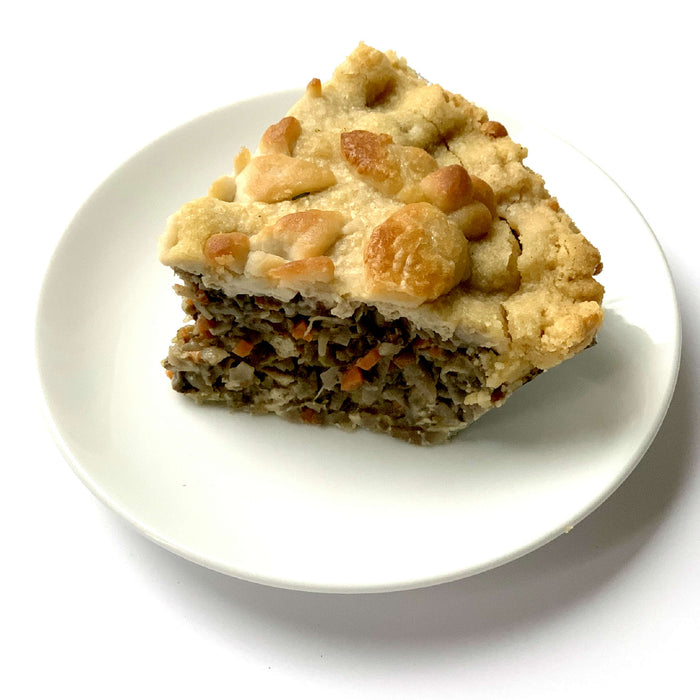 Vegan Tourtiere Pie (French Canadian Vegan Pie)