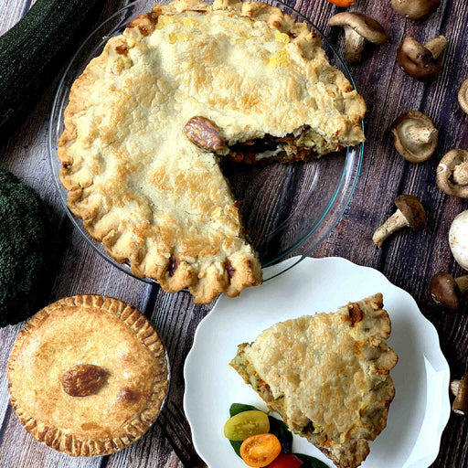 Vegan Fantastic Vegetable Pie
