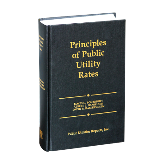 Principles of Public Utility Rates