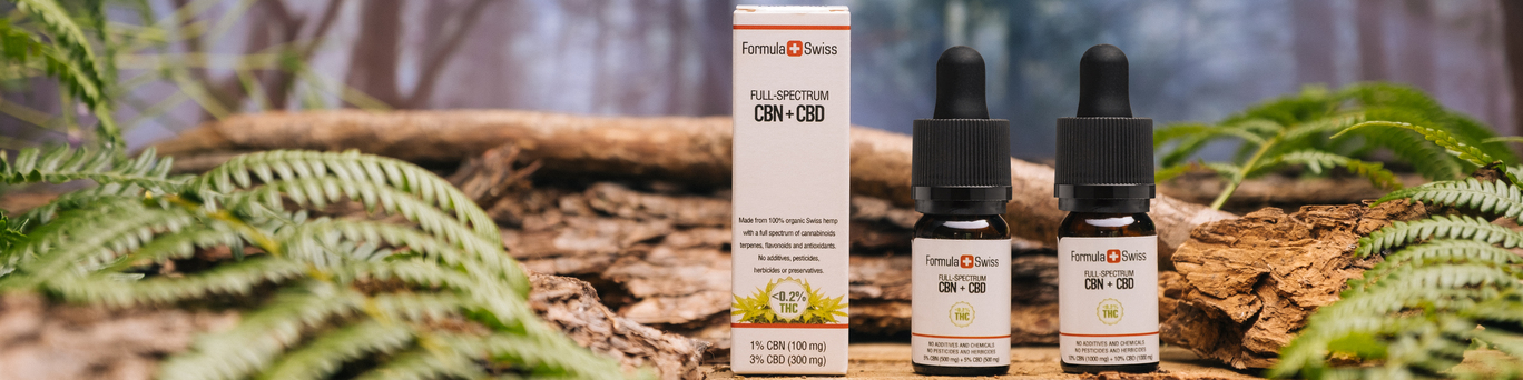 CBN Oil from Switzerland - Made from 100% Organic Hemp