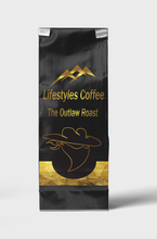 "Load image into Gallery viewer, ""The Outlaw "" Hybrid Roast Loaded With Caffeine"