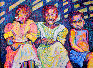 Seated Children