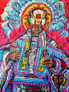 "Big Chief Lazer Horse ""Mardi Gras Indian #1"""