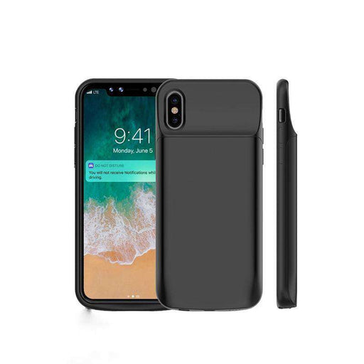 Coque batterie 6000mAh pour iPhone X TECHDEAL