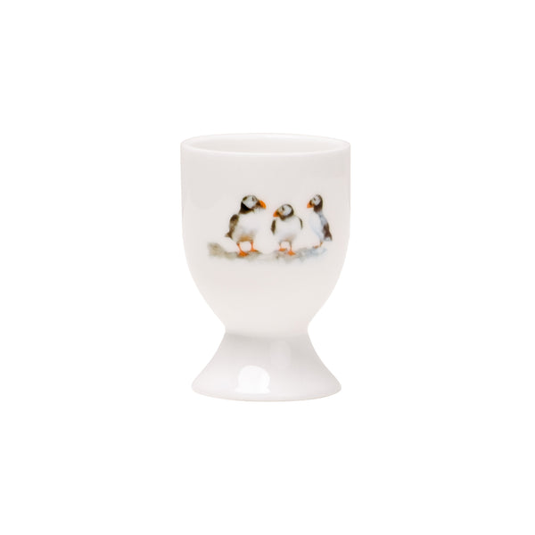 Three Puffin Egg Cup