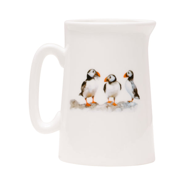 Three Puffins Pint Jug