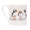 Three Puffin Mug