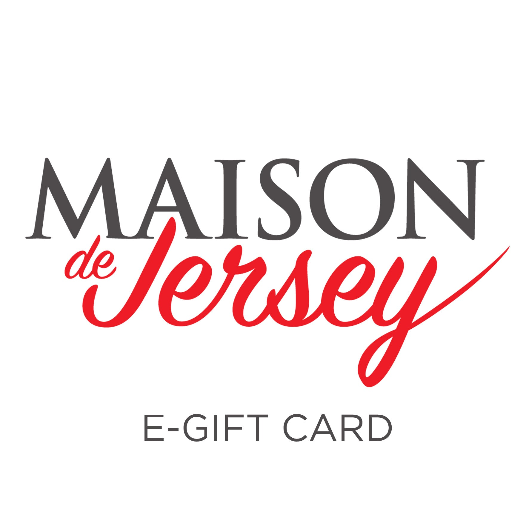 E-Gift Card (Online use only)
