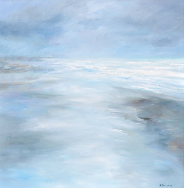 Misty Morning, St Ouen - Original Oil on Canvas