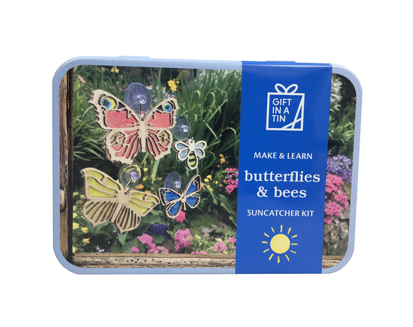 Gift in a Tin - Butterflies & Bees