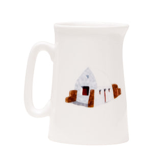 White House Half Pint Jug