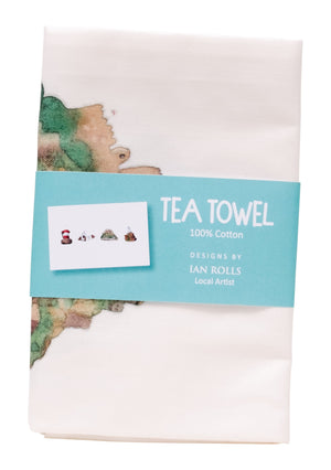 Jersey Sights Tea Towel