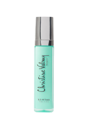 Christine Valmy 5.5 pH Toner, nighttime toner for sensitive skin.